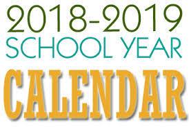 Year To Year Calendar 2018 19 School Year Calendar Released South Bend Community School
