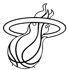 Small Picture Nba coloring pages miami heat logo ColoringStar