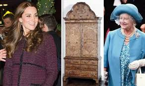 kate middleton is related to queen mother duchess to view cabinet  the interesting discovery comes after n art historian michael reed researched the famous blakiston bowes