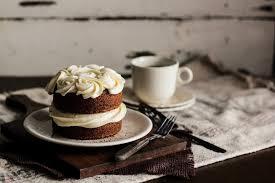 Black Tea Cake with Honey Buttercream - Pastry Affair