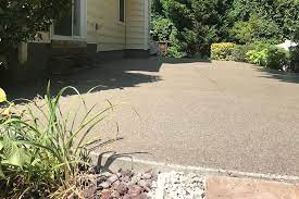 using concrete paint to enhance a patio