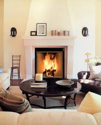 rumford fireplace with black frame and white mantel kit matched with white wall and wooden plus