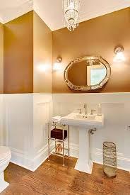 copper bathroom