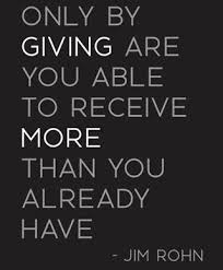 Quotes On Giving Fascinating Inspirationalgivingquotes48 Civic And Community Engagement