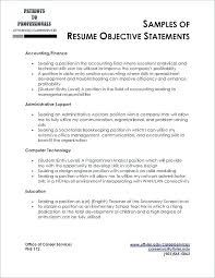 Resume Career Objective Statement Extraordinary Resume Marketing Objective Simple Resume Examples For Jobs