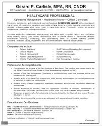 Staff Nurse Sample Resume Format