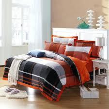 red buffalo check bedding black orange and white southwestern buffalo checked print full queen size cotton red buffalo check bedding