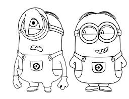 minions dibujos para colorear dibujos para colorear frozen para colorear