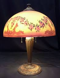 lamp shades phoenix 42 best reverse painted images on antique lamps glass 8