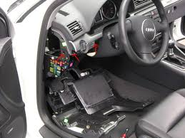 b6 a4 s4 interior trim removal  at Audi A4 Fuse Box Location 2017 Footwell
