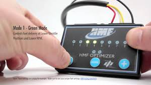 hmf optimizer installation and tuning