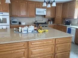 quartz countertops with oak cabinets. Simple Oak Open Kitchen With Quartz Counters And Oak Cabinetsbeautiful On Countertops With Oak Cabinets Pinterest