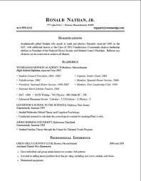 Resume Tips 2014 College Students Resume Examples 2013 Pinterest