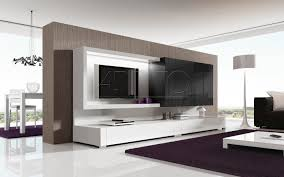 Wall Cabinets Living Room Contemporary Tv Wall Unit Lacquered Wood Nagare 41c A Brito