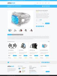 products page freebie adamas ecommerce website psd template premiumcoding
