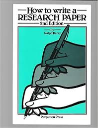 How To Write A Paper Cool How To Write A Research Paper R Berry 48 Amazon