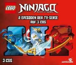 LEGO Ninjago Hörspielbox, 3 Audio-CDs. Tl.1