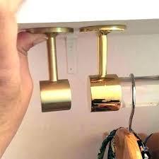 menards closet rod closet rod bracket ceiling mount curtain rods ceiling mount closet rod standard rod