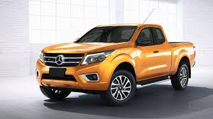 2018 Mercedes X-Class pickup truck to debut at 2016 Paris motor show?
