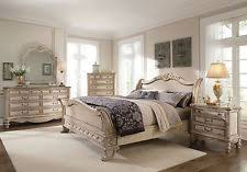 antique white bedroom furniture. 5pcs new bedroom set furniture traditional antique white queen sleigh bed - ia8a e