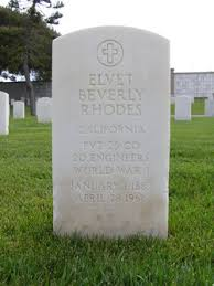 Elvet Beverly Rhodes (1883-1966) - Find A Grave Memorial