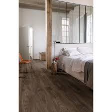 balance cottage oak effect dark brown luxury vinyl flooring by q tile giant