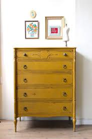 mustard yellow furniture. Mustard Yellow Dresser Painted With Milk Paint Furniture Pinterest