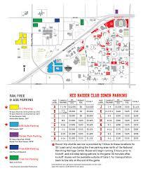 Texas Tech Jones Stadium Seating Chart Red Raider Club Football