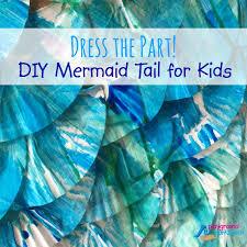 diy mermaid tail for kids