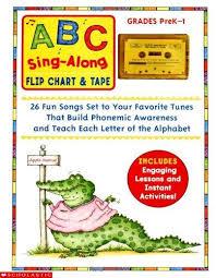 9780439155830 Abc Sing Along Flip Chart 26 Fun Songs Set