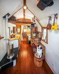 Small Picture Couple Quits Day Jobs Builds Quaint Tiny Home On Wheels To