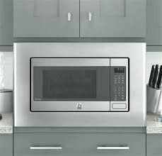 white microwave convection oven countertop with 3