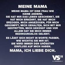 Meine Mama Meine Mama Ist Eine Frau Wie Keine Andere Sie Hat Mir