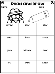 Phonics Long O Worksheets for all   Download and Share Worksheets ...