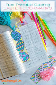 I'm more then happy to help you out! Free Printable Easter Coloring Bookmarks I Should Be Mopping The Floor
