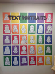text portraits
