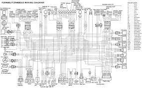 yamaha fzr400 fzr400suc wiring diagram