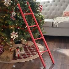 <b>Red</b> Wooden <b>Ladder</b> | Kirklands