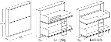 Murphy Bunk Bed Plans Lollipop Size Day And Night Murphy Bunk Bed