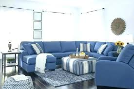 navy blue leather recliners sectional couch reclining