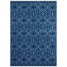 frame transitional moroccan trellis 8x10 area rug moroccan blue amd light blue