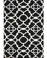 rug black and white. feizy rugs cetara collection imported area rug, 8\u00276\ rug black and white