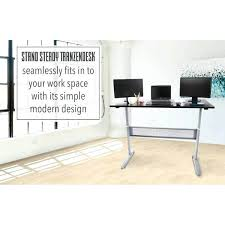 simple standing desk standing adjule desk inch full size standing desk stand steady build simple standing