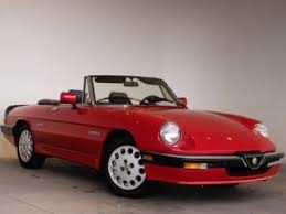 alfa romeo spider 1986.  Romeo 1986 Alfa Romeo Spider Veloce Convertible On F