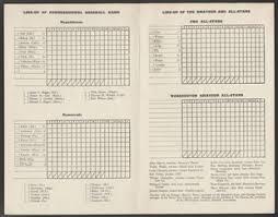 Baseball Game Scorecard Congressional Baseball Game Scorecard Us House Of