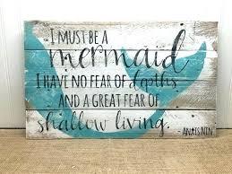 mermaid wall decor best art ideas on in wood little metal sculpture me
