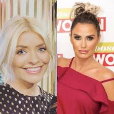 Последние твиты от holly willoughby (@hollywills). Katie Price Slammed After Calling Holly Willoughby Too Thin During Live Tv Segment Goss Ie