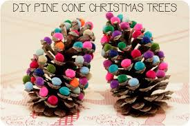 DIY Pinecone Craft Projects For Christmas DecorationPine Cone Christmas Tree Craft Project
