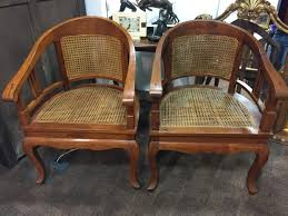 Art deco period furniture Country Victorian Pair Art Deco Period Club Captains Cane Chairs C1930 Incollect Pair Art Deco Period Club Captains Cane Chairs C1930 575146