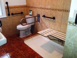 ada shower chair fold down